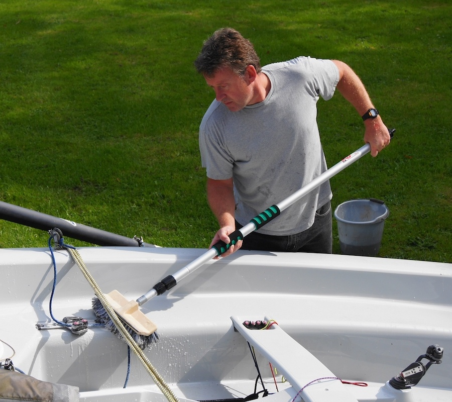 importance of cleaning your boat