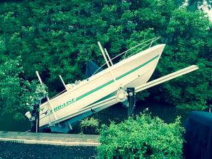 Broken Boat Lift