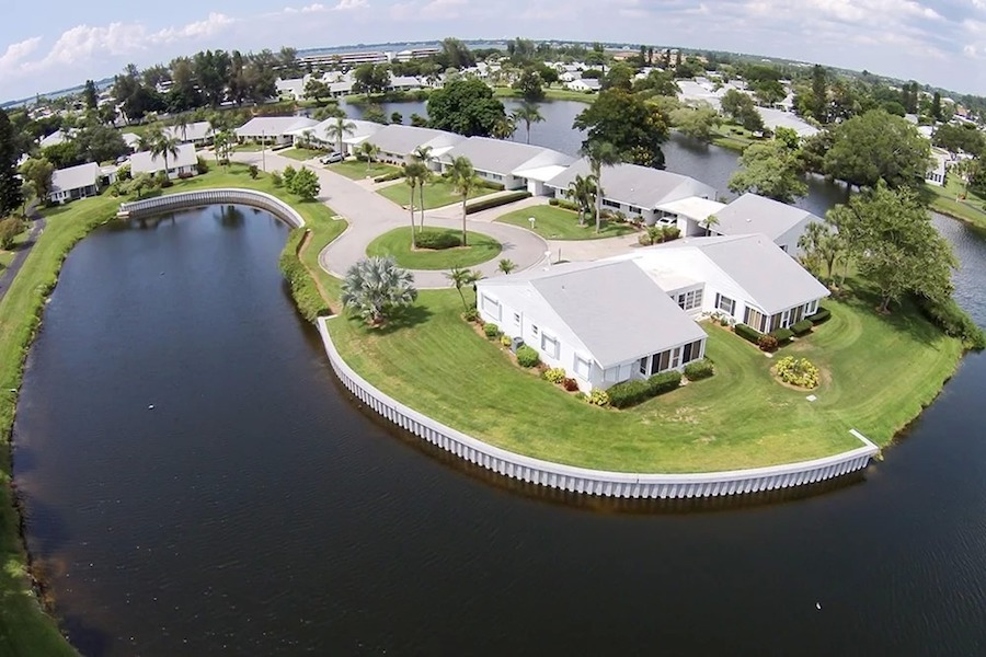seawall and waterfront property in florida