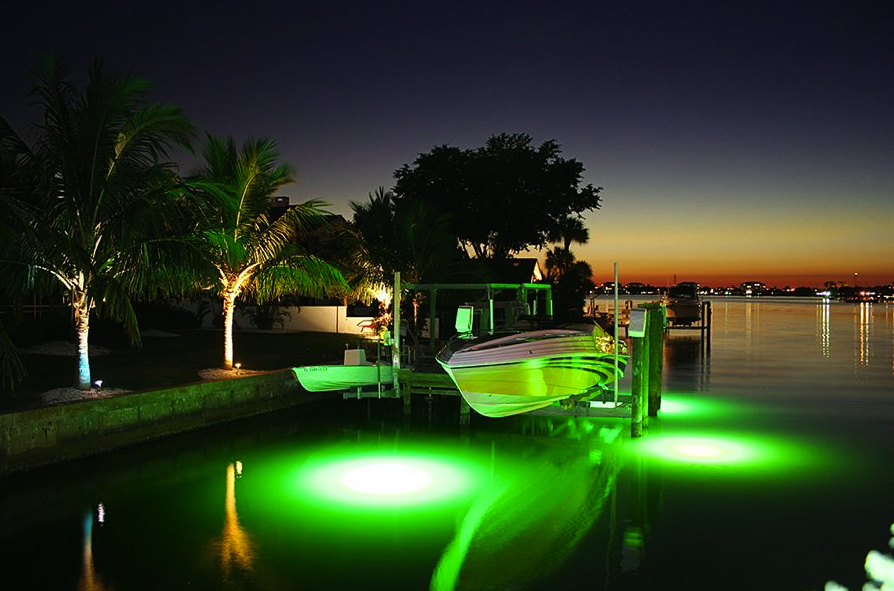 how underwater lighting can make fishing off your dock more fun, Reel Combo
