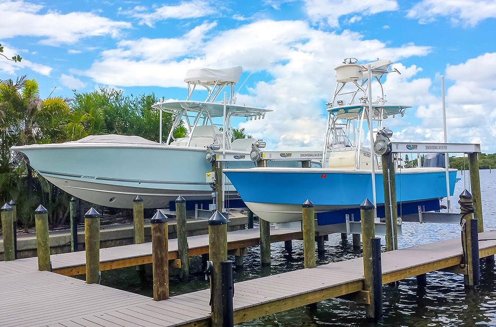 Marine construction in Sarasota, Florida