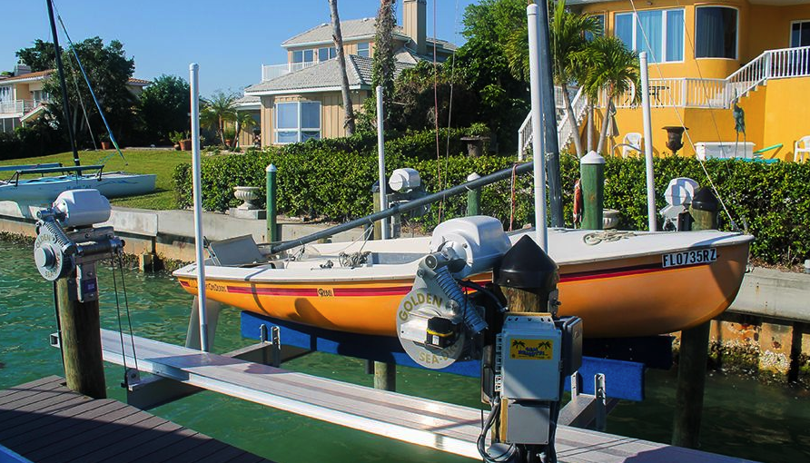 Duncan Seawall is the #1 Dealer for Golden Boat Lifts, the #1 Boat Lift Manufacturer in the World