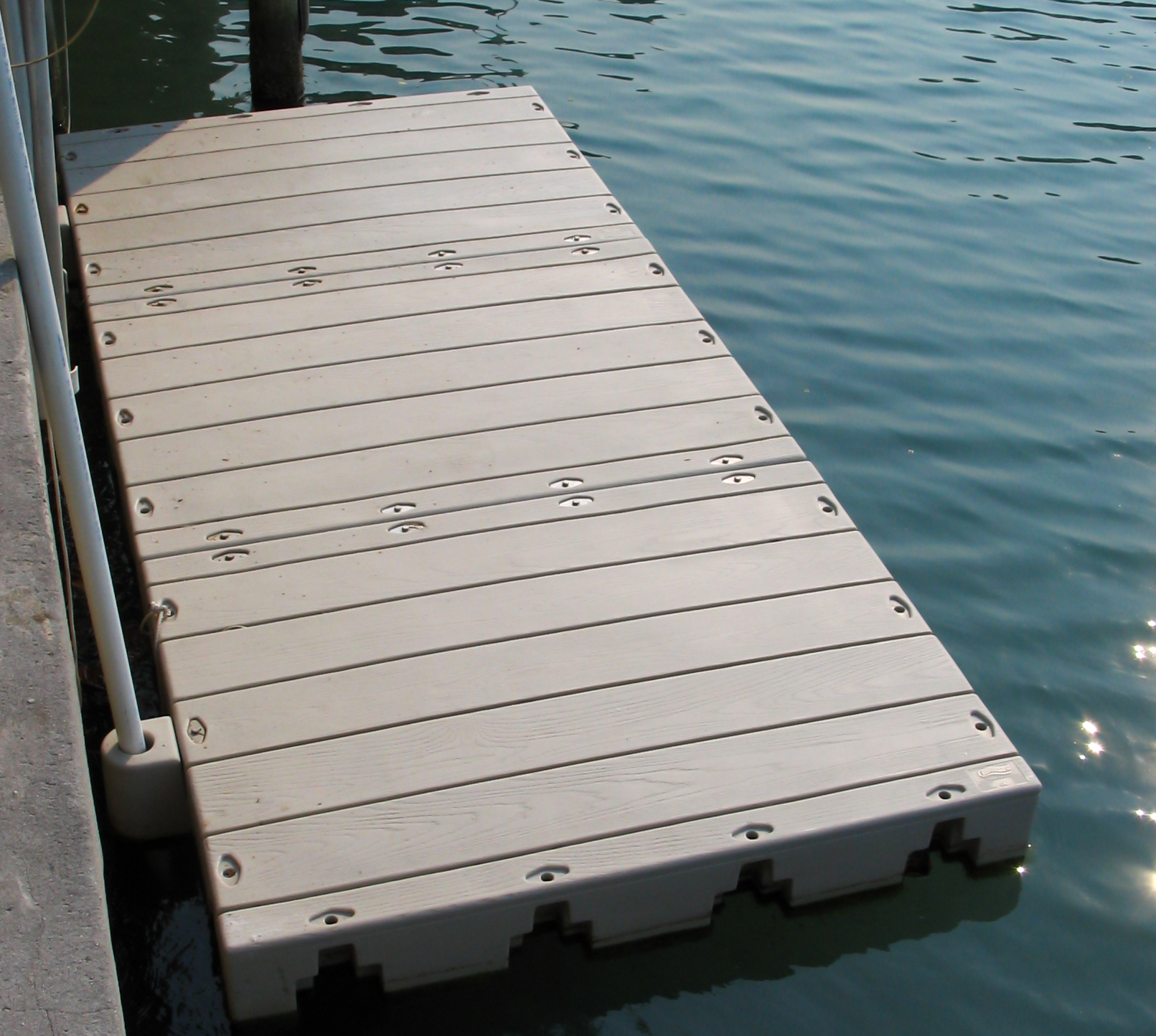 Have Your Connect-A-Dock Installed by Duncan Seawall