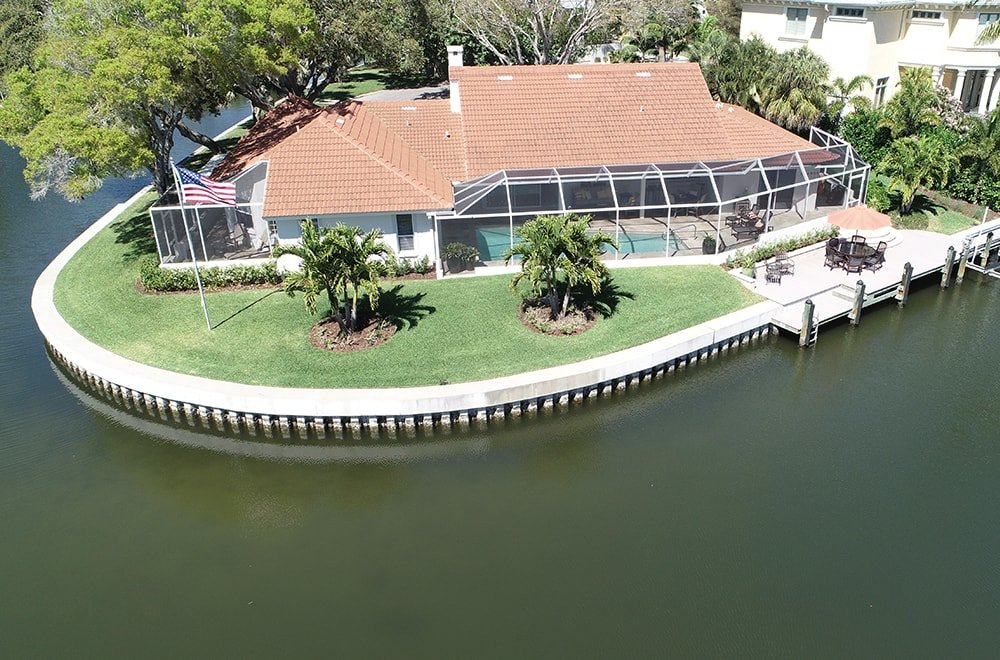 Residential Seawall Southwest Florida-min
