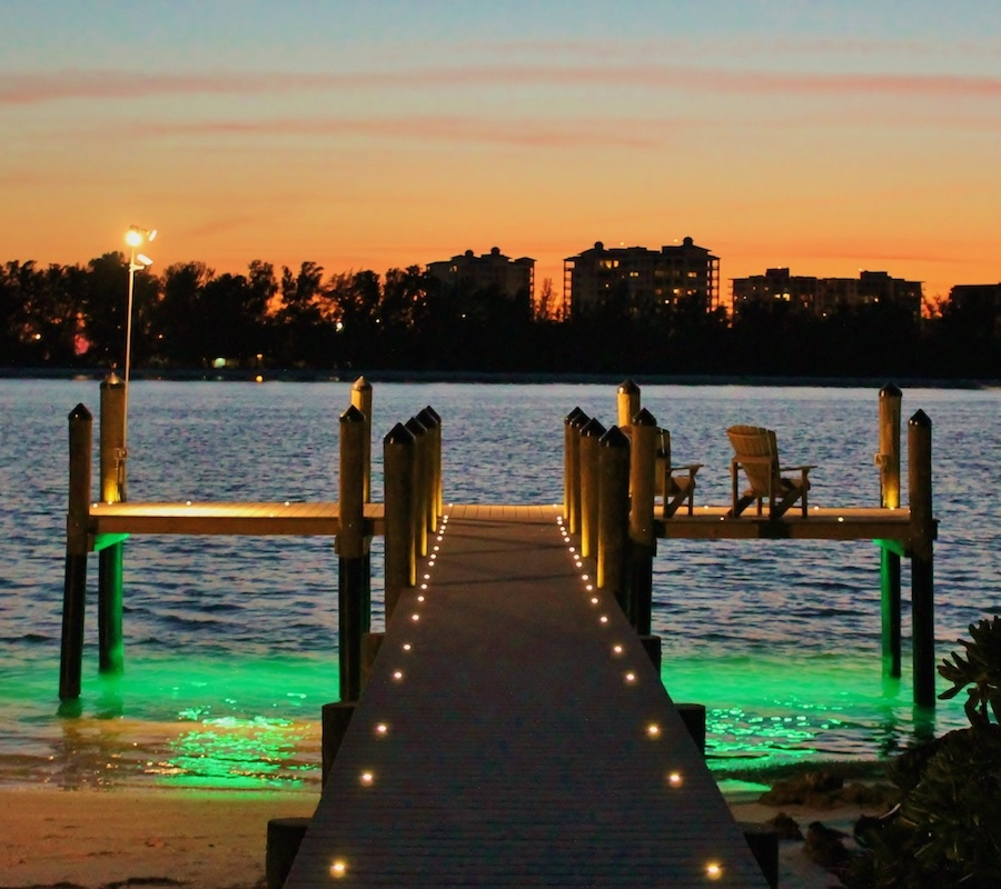 What are Your Custom Dock Lighting Solutions in Sarasota, Florida