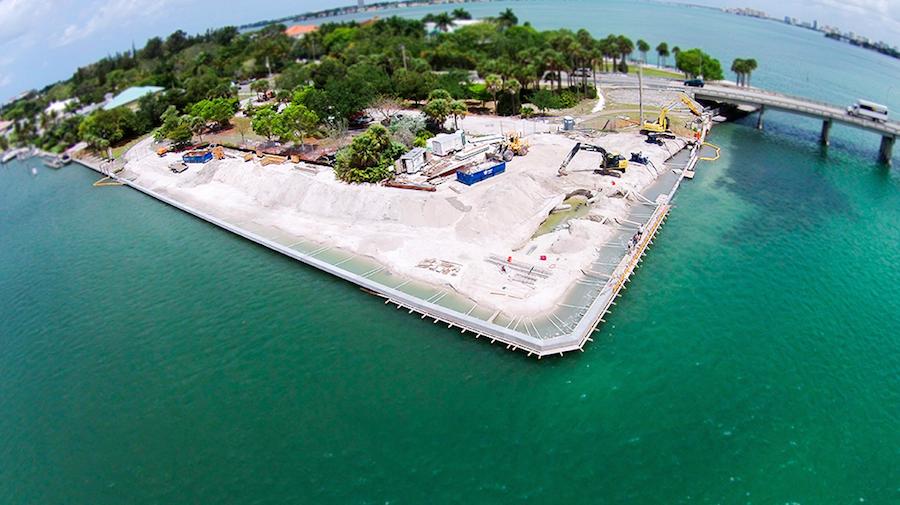 Ten Great Aerial Shots of Docks and Boat Lifts inSarasota
