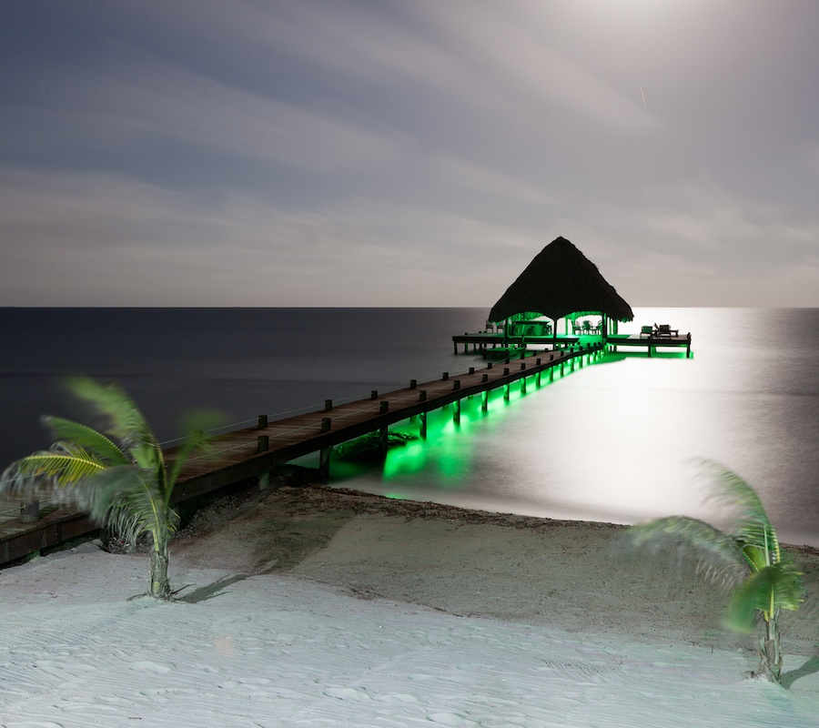 Green Underwater Dock Lights Why The Color Green