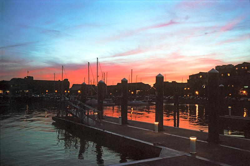 bigstock-Sunset-At-Newport-Wharf-Ri-1319848