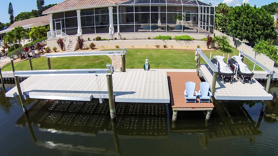 What are My Boat Lift Options for Shallow Water