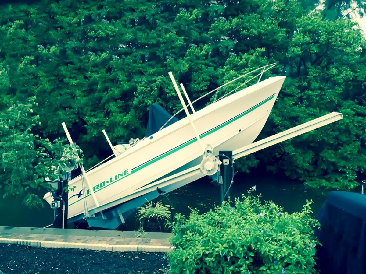 Boat Lift Service Success Story in Sarasota Florida
