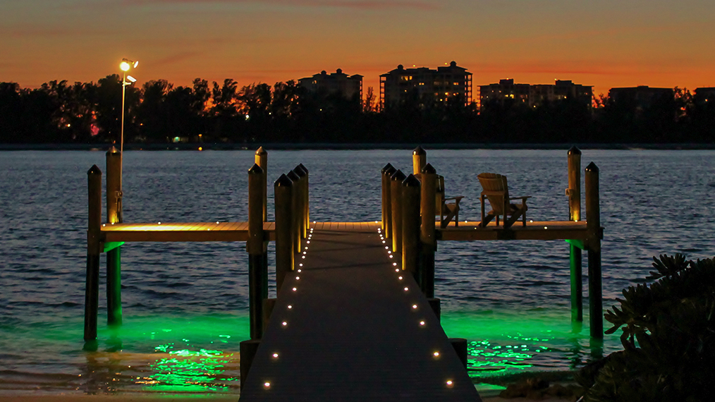Dock Lighting Projects in Tampa, Sarasota and Venice